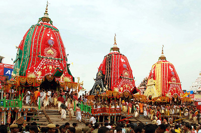 Famous Car Festival of PURI