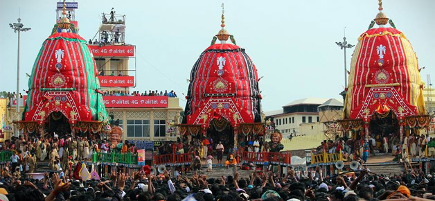 Chariots of Puri Car Festival
