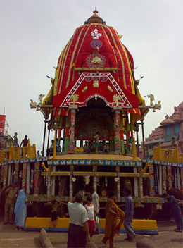 Nandighosa - Chariot of Lord Jagannath