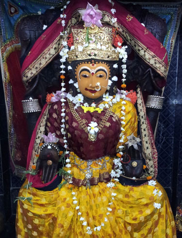 Goddess Laxmi at Alarnath Temple Compound